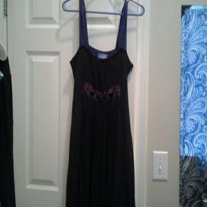 Vera wang simplyVera size 8 silk dress
